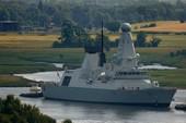 Tàu khu trục Anh bị chê quá ồn ào, dễ bị phát hiện