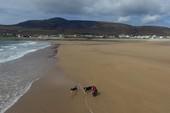 Bãi biển 300 m biến mất 33 năm bất ngờ xuất hiện