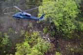Rơi máy bay trinh sát Nhật, 4 người thiệt mạng