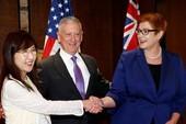 Mỹ, Nhật, Úc đồng loạt chỉ trích Trung Quốc ở biển Đông