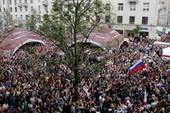 Biểu tình lớn ở Nga, thủ lĩnh đối lập bị bắt giam
