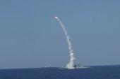 Tàu chiến Nga nã liên tiếp 6 tên lửa diệt mục tiêu IS