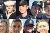 Tìm thấy thi thể 10 thủy thủ vụ tàu chiến Mỹ gặp nạn