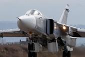 Su-24 Nga gặp nạn ở Syria, phi hành đoàn tử vong
