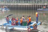 Ra quân làm đẹp tuyến kênh Nhiêu Lộc - Thị Nghè