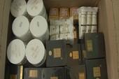 Phát hiện hàng trăm chai mỹ phẩm không rõ nguồn gốc