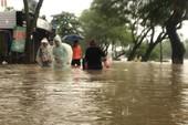 Mưa lớn, nhiều nơi ở Thừa Thiên-Huế bị ngập nặng