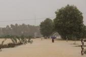 Vùng trũng Thừa Thiên-Huế lại bì bõm trong nước lũ
