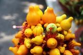 Kiểng nông sản đắt khách ở chợ hoa Tết Sài Gòn