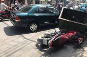 Tài xế xe 80B ép ngã 2 kẻ giật túi du khách Nhật