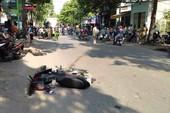 Hai xe máy tông, người không đội mũ bảo hiểm tử vong