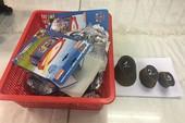 1,5 kg sừng tê giác giấu tinh vi trong đồ chơi trẻ em