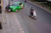 Tài xế taxi tông kẻ cướp gần Tân Sơn Nhất được khen