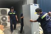 Khui container phát hiện thiết bị điện nội địa Nhật