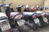 Công an phường Đông Hưng Thuận tìm chủ 7 xe máy