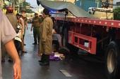 Tránh xe máy, nam thanh niên bị container cán tử vong