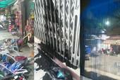 2 tiệm giày ở Bình Thạnh liên tiếp bị tạt sơn