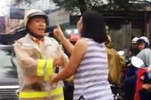 Người phụ nữ lăng mạ CSGT nói gì tại công an phường?