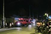 Cháy khu vực lò đốt xưởng dệt, công nhân hoảng loạn