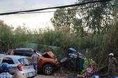 Xe bán tải tông xe ba gác, 1 người bị chẹt tử vong
