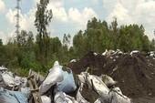 Đồng Nai: Một công ty đổ xỉ than ra môi trường