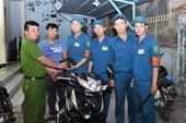 Công an quận 4 tìm chủ sở hữu của hơn 350 xe máy