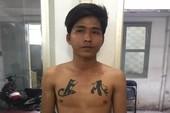 Nam thanh niên xăm hình cha mẹ trên ngực đi cướp giật