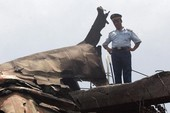 Máy bay Ukraine rơi, bảy người chết
