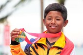 VĐV nhỏ tuối nhất SEA Games đoạt hai HCV