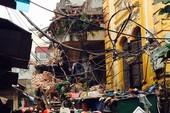 Chùm ảnh vụ sập tòa biệt thự kiểu Pháp  ở Hà Nội