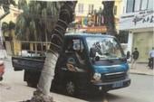 CSGT Đà Nẵng tiếp tục xử xe biển xanh đỗ sai chỗ