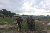 Hình ảnh khảo sát khu vực mộ liệt sĩ ở Tân Sơn Nhất