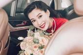 Hoa hậu Đặng Thu Thảo 'theo chàng về dinh'