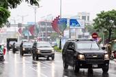 Ngắm dàn 'xe khủng' phục vụ Tổng thống Trump ở Đà Nẵng