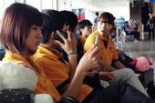 Tuyển bóng đá nữ VN mệt mỏi vì hơn nửa ngày di chuyển