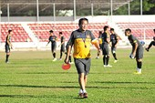 Ra sân tập, U23 Việt Nam bị lạc đường