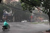 Không khí lạnh gây mưa rét tại các tỉnh miền Bắc