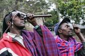 Châu Phi và châu Á xem nhật thực
