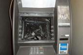 Thêm một cây ATM ở Hà Nội bị phá để cướp tiền