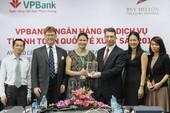 VPBank nhận giải thưởng về thanh toán quốc tế