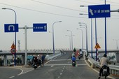 Thông xe cầu vượt Cát Lái