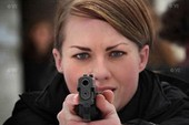 Ngắm đội nữ cảnh vệ xinh đẹp của Hillary Clinton