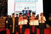 UEF trao bằng tốt nghiệp cho 200 sinh viên khóa đầu tiên