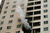 Hà Nội: Hoảng loạn vì cháy chung cư 34 tầng
