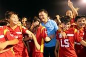 Giải bóng đá nữ Quốc tế TP.HCM mở rộng