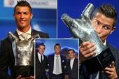 Ronaldo xuất sắc nhất châu Âu, Messi ghi bàn đẹp nhất năm