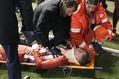 HLV Simeone:'Tôi nghe tiếng rắc và tưởng Torres gãy cổ'