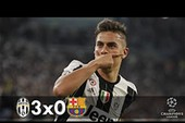 Nhìn lại trận thua kinh hoàng của Barca trước Juventus
