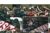 """CĐV Bayern Munich """"đụng độ"""" nảy lửa với cảnh sát Madrid"""