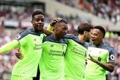 Liverpool thắng đậm, Arsenal lâm nguy